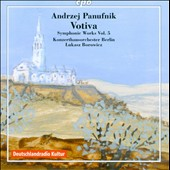 Andrzej Panufnik: Symphonic Works, Vol. 5 - Votiva / Lukasz Borowicz, Konzerthausorchester Berlin