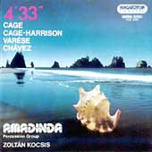 Var&egrave;se, Ch&aacute;vez, Cage & Harrison / Amadinda Percussion Group