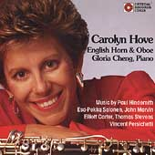 Carolyn Hove - Music by Hindemith, Salonen, et al / Cheng