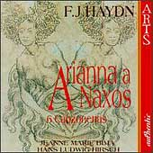 Haydn: Arianna a Naxos, Canzonettas / Bima, Hirsch