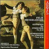 Mendelssohn: Symphonies for Strings Vol 3 / Duczmal, et al