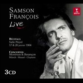 Samson François Live - 2 solo recitals from January 1964; Concertos by Schumann, Prokofiev & Franck
