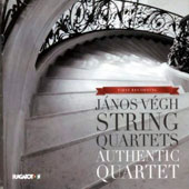 János Végh (1845-1918): String Quartets (3) / Authentic Quartet