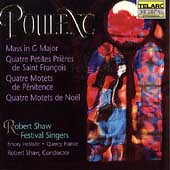 Classics - Poulenc: Mass in G, etc / Shaw Festival Singers