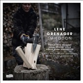 Lene Grenager (b.1969): Smilodon; Cello Concerto; The Operation / Hakon Stene, percussion; Rolf Borch, contrabass clarinet; Tanja Orning, cello. Arctic Phil. Sinf.
