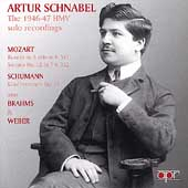 Artur Schnabel - The 1946-47 HMV solo recordings