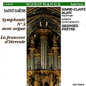 Saint-Saens: Symphony no 3 / Alain, Pretre, Vienna Sym Orch