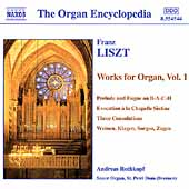 The Organ Encyclopedia - Liszt: Organ Works Vol 1 / Rothkopf