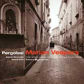 Pergolesi: Marian Vespers / Higginbottom, Daneman, Kiss, etc