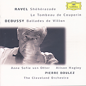 Ravel, Debussy / Boulez, Otter, Cleveland Orchestra