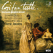 Mozart: Cos&igrave; fan tutte / Jacobs, Concerto K&ouml;ln, Gens, et al