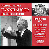 Wagner: Tannh&auml;user / Keilberth, Vinay, Brouwenstijn, Dieskau