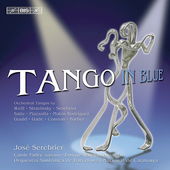 Tango in Blue - Stravinsky, etc / Serebrier, Farley, et al