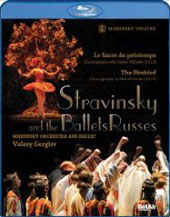 Stravinsky And The Ballets Russes / Mariinsky Ballet, Gergiev [Blu-Ray]