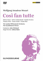Mozart: Cosi fan tutte / Does, Lindenstrand, Perriers, Allen, Austin. Pritchard, London PO [DVD]