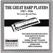 Various Artists: The Great Harp Players (1927-1936)