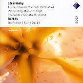Bartok: Suite Op.14, Im Freien Sz.81, Tango/Stravinsky: 3 Movements From Petrush