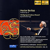Berlioz: Te Deum;  Mozart / Stuart, Davis, et al