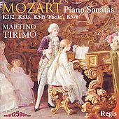 Mozart: Piano Sonatas no 12, 13, 16 & 18 / Tirimo