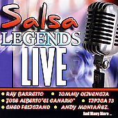 Various Artists: Salsa Legends Live