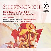 Shostakovich: Piano Concertos, etc / Marriner, Alexeev