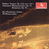 Brahms, Schumann: Works for Clarinet / Wachmann, Reuter
