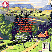 British Music for Flute, Oboe & Piano / Ruffer, et al