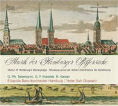 Music of the Hamburg's Moneybags - Telemann, Handel, Keiser / Suh, Elbipolis Baroque Orchestra Hamburg