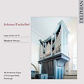 Pachelbel: Organ Works Vol 2 / Matthew Owens, organ