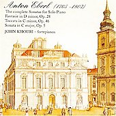 Anton Eberl: Major Solo Piano Works / John Khouri