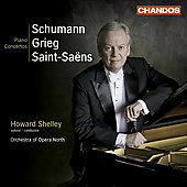 Schumann, Grieg, Saint-Saëns: Piano Concertos / Shelley, Greed, et al