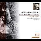 Brahms: Deutsche Volkslieder / Coburn, Prey, Parsons
