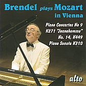 Mozart: Piano Concerti no 9 & 14, Piano Sonata no 8 / Alfred Brendel, et al