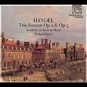 Handel: Trio Sonatas Op. 2 & 5 / Richard Egarr, Academy of Ancient Music