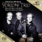 Brahms: Piano Trios Nos. 1 & 2 [Hybrid SACD] [Includes DVD]