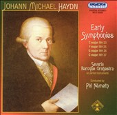 Johann Michael Haydn: Early Symphonies