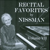 Recital Favorites Vol. 7: Beethoven, Bartok, Liszt, Prokofiev / Barbara Nissman, piano