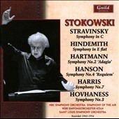 Stokowski Conducts Stravinsky, Hindemith, Hartmann, Hanson, Harris & Hovhaness