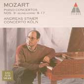 Mozart: Piano Concertos 9 & 17 / Staier, Concerto K&ouml;ln