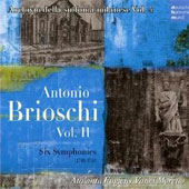 Antonio Brioschi: Six Symphonies