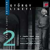 Gy&#246;rgy Ligeti Edition Vol 2 - A Cappella Choral Works