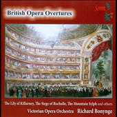 British Opera Overtures - by Benedict, Barnett, Balfe, Loder, Wallace, MacFarren / Richard Bonynge