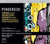 The Very Best of Krzysztof Penderecki: Works for String Orchestra / Czepiel, Piekutowska, Bilinska