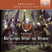 Otto Nicolai: The Merry Wives of Windsor / Kurt Moll, Bernd Weikl, Peter Schreier, Edith Mathis, Helen Donath. Bernhard Klee