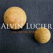 Alvin Lucier: Orchestral Works: Diamonds for 1, 2 or 3 Orchestras; Slices / Charles Curtis, cello