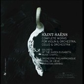 Saint-Saens: Complete Works for Violin & Orchestra, Cello & Orchestra / Buksha, De Maeyer, Langley, Petrova, Samouil et al.