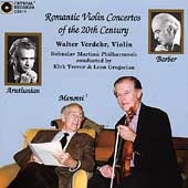 Romantic Violin Concertos of the 20th Century / Verdehr
