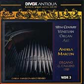 Antiqua - 18th Century Venetian Organ Art / Andrea Marcon