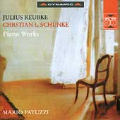 Reubke, Schunke: Piano Works / Mario Patuzzi