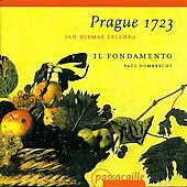 Prague 1723 - Zelenka / Paul Dombrecht, Il Fondamento